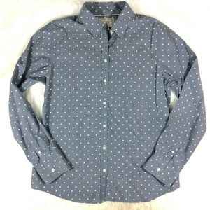 Banana RepublicSoft Wash Shirt Polka Dot Shirt